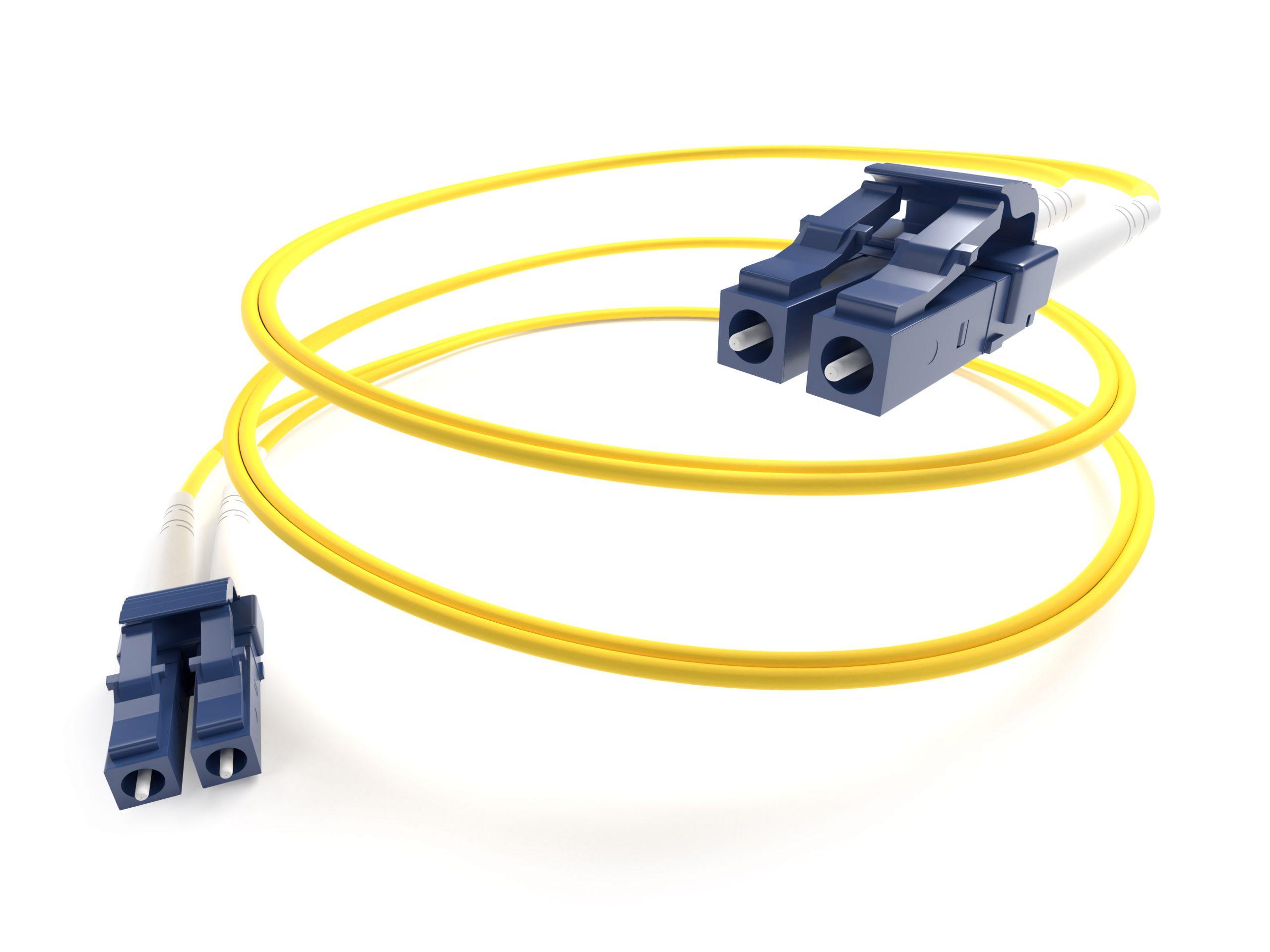Singlemode Fiber Optic Cable Yellow