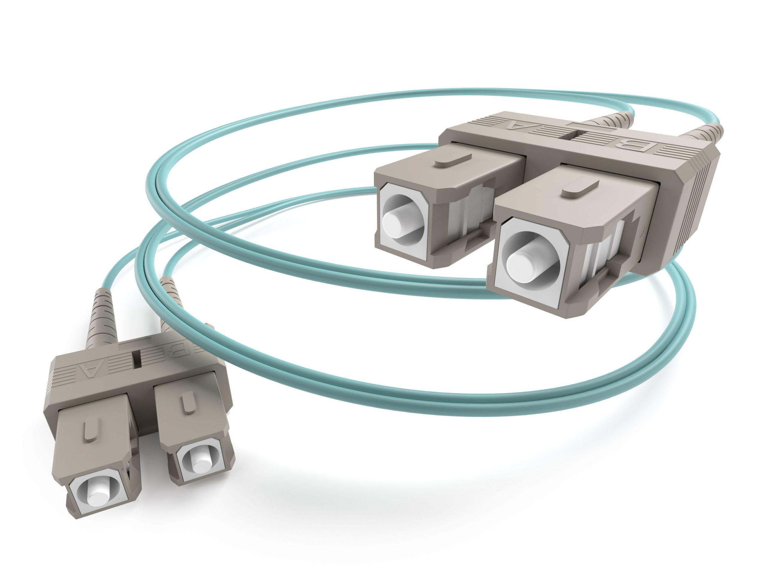 Image of OM3 SC-SC Fiber Optic cable
