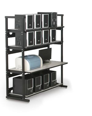 Racks, Work Stations & Accessories