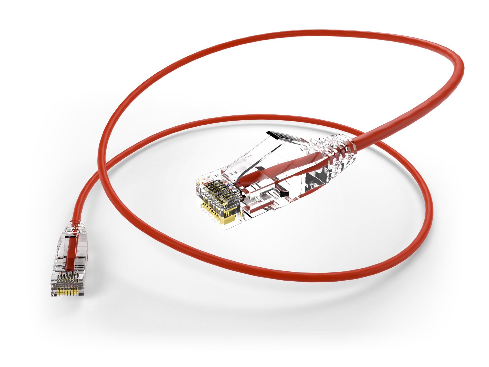 Cat6 Red patch cable