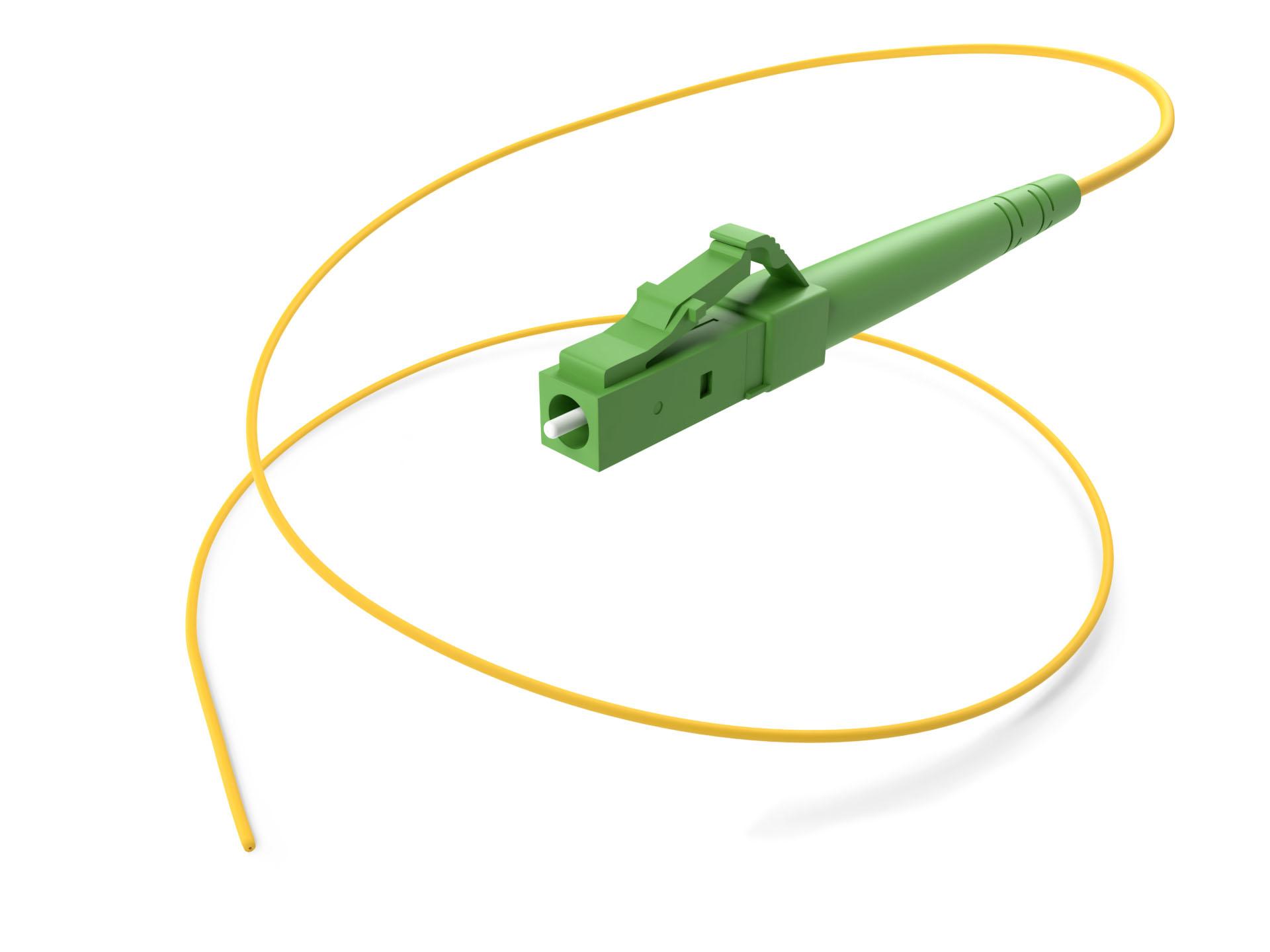 Fiber Optic Singlemode LC/APC Pigtail