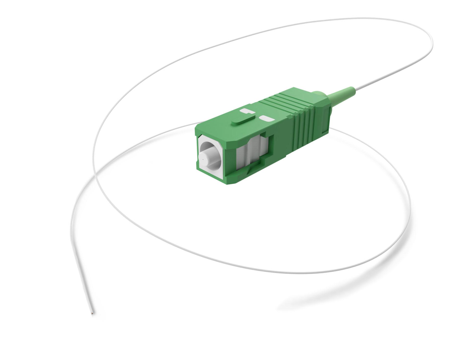 UNC Fiber Optic Pigtail Simplex SC/APC